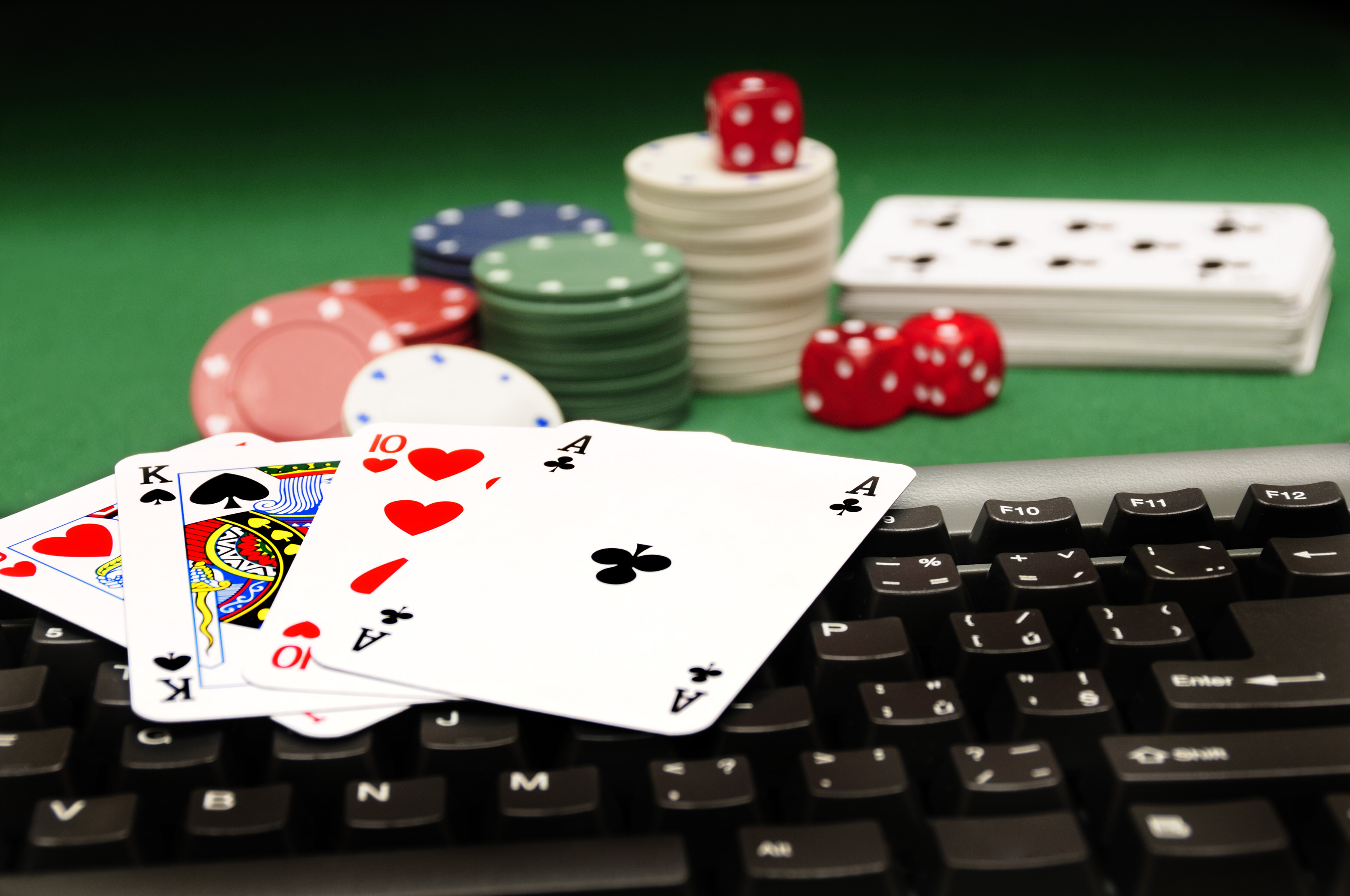 online casino and traditional